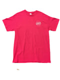 Chips & Gravy South Yorks Tee Fuchsia Pink