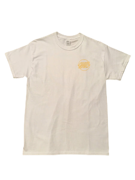 Chips & Gravy South Yorks Tee White