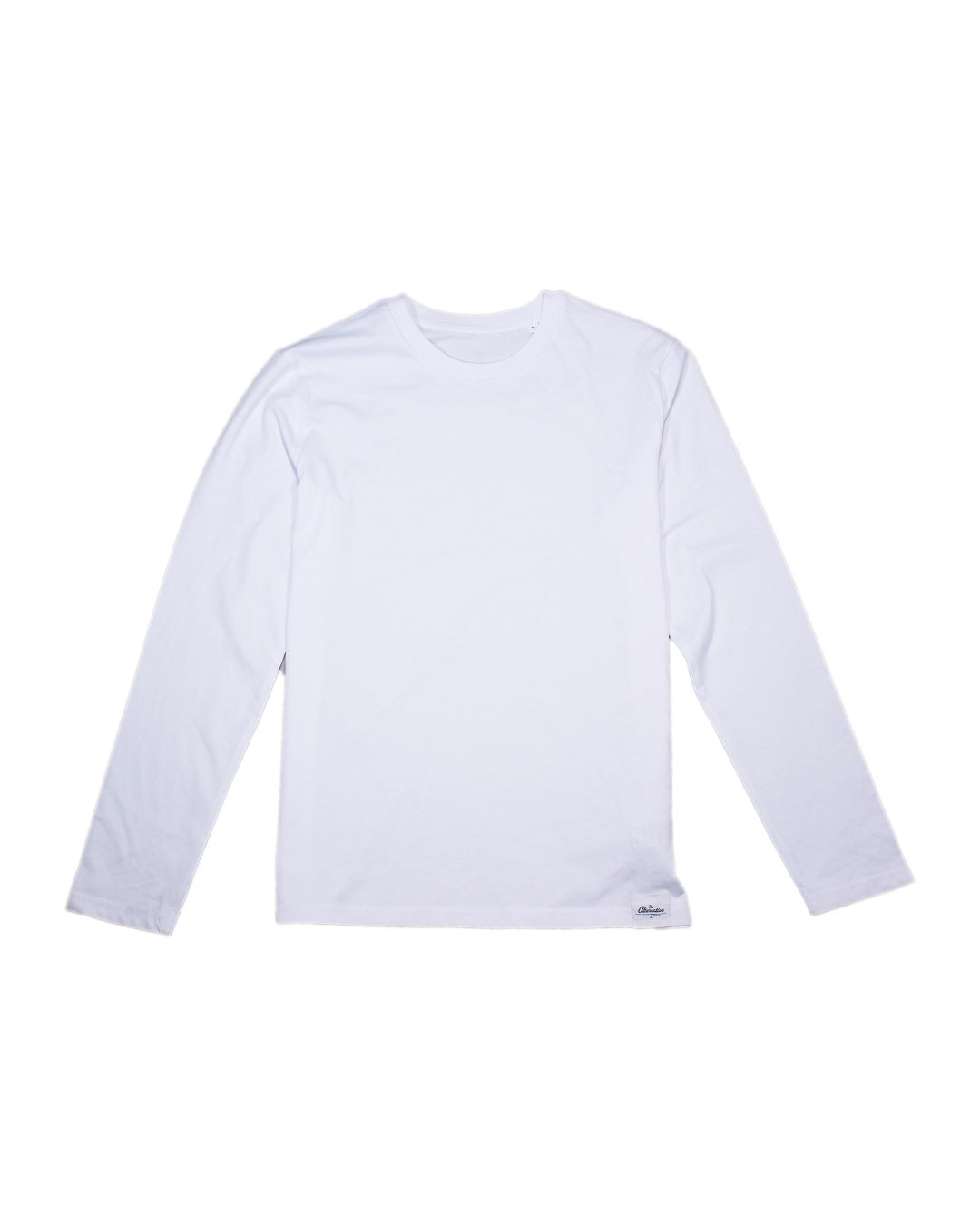The Alternative - White Long Sleeve T-Shirt