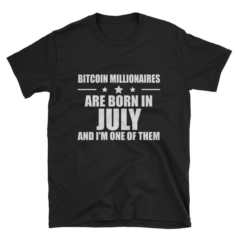 The July Millionaire Bitcoin Shirt