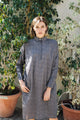 Grey Diamonds Dori Dress