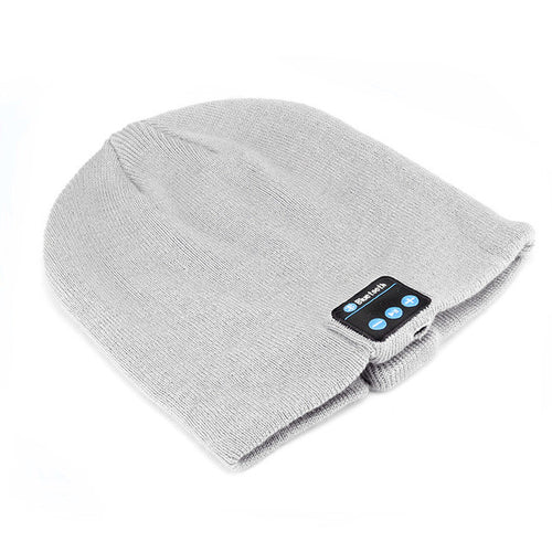 SoundMate™ Cappello Wireless Smart Headphone Bluetooth 4.1 Warm Hat Music Built-in Mic Headset Speaker Warm Winter Knitting Hat Knit Cap