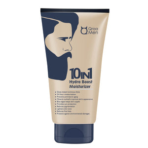 10 in 1 Hydra Boost Moisturizer for Men with 24H Moisturization