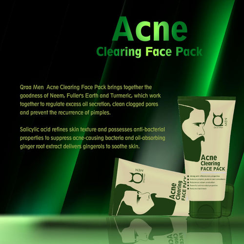 Acne Clearing Face Pack 100g- With Ginger Extracts