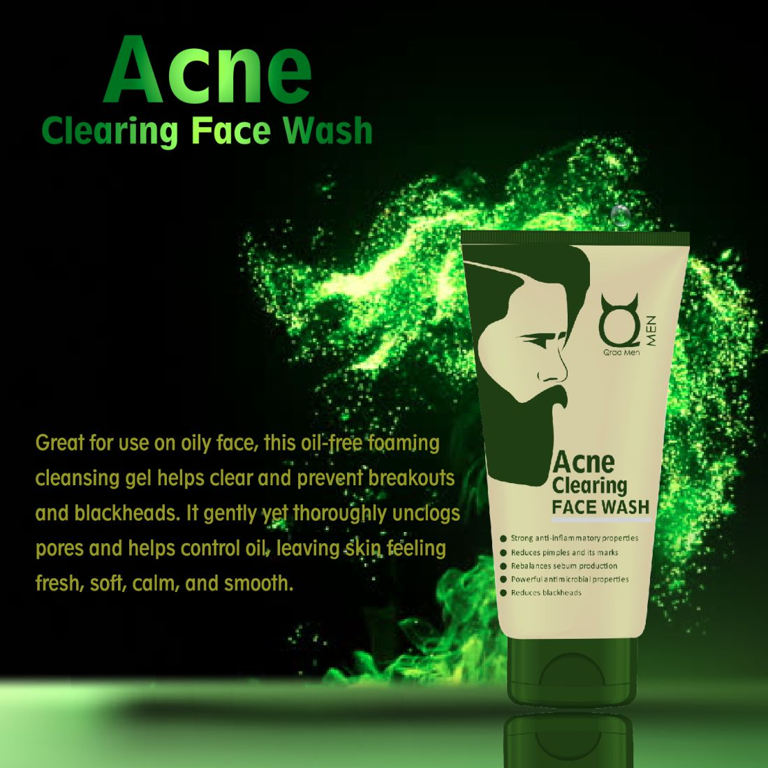 Acne Clearing Face Wash 100g