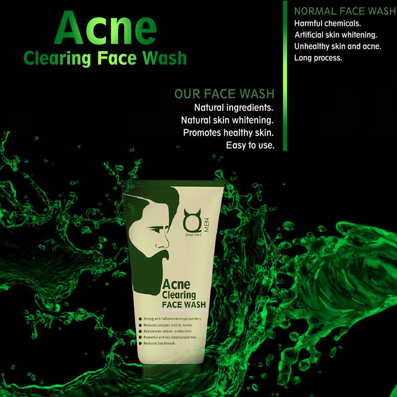 Acne Clearing Face Wash - For Acne and pipmples, 100g