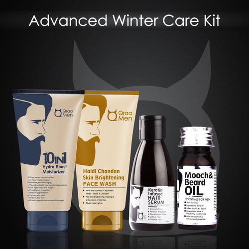 Christmas Kit: Winter Care Qraa Men Kit ( Gift collection)