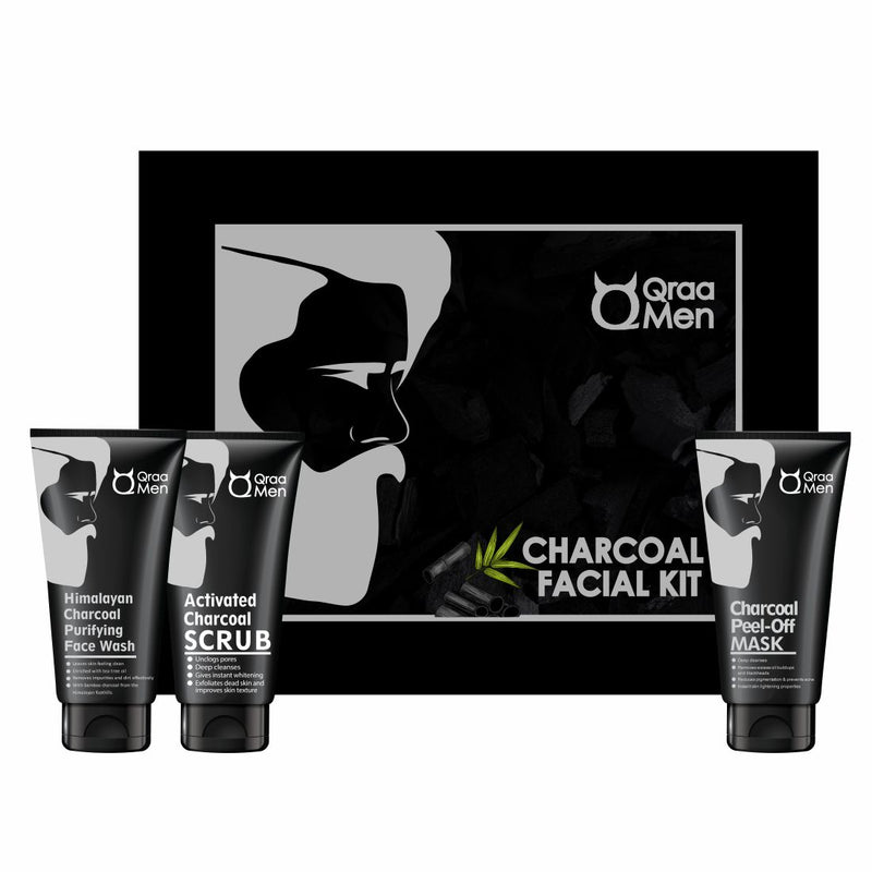Activated Charcoal Kit for Men- Intense Whitening Therapy