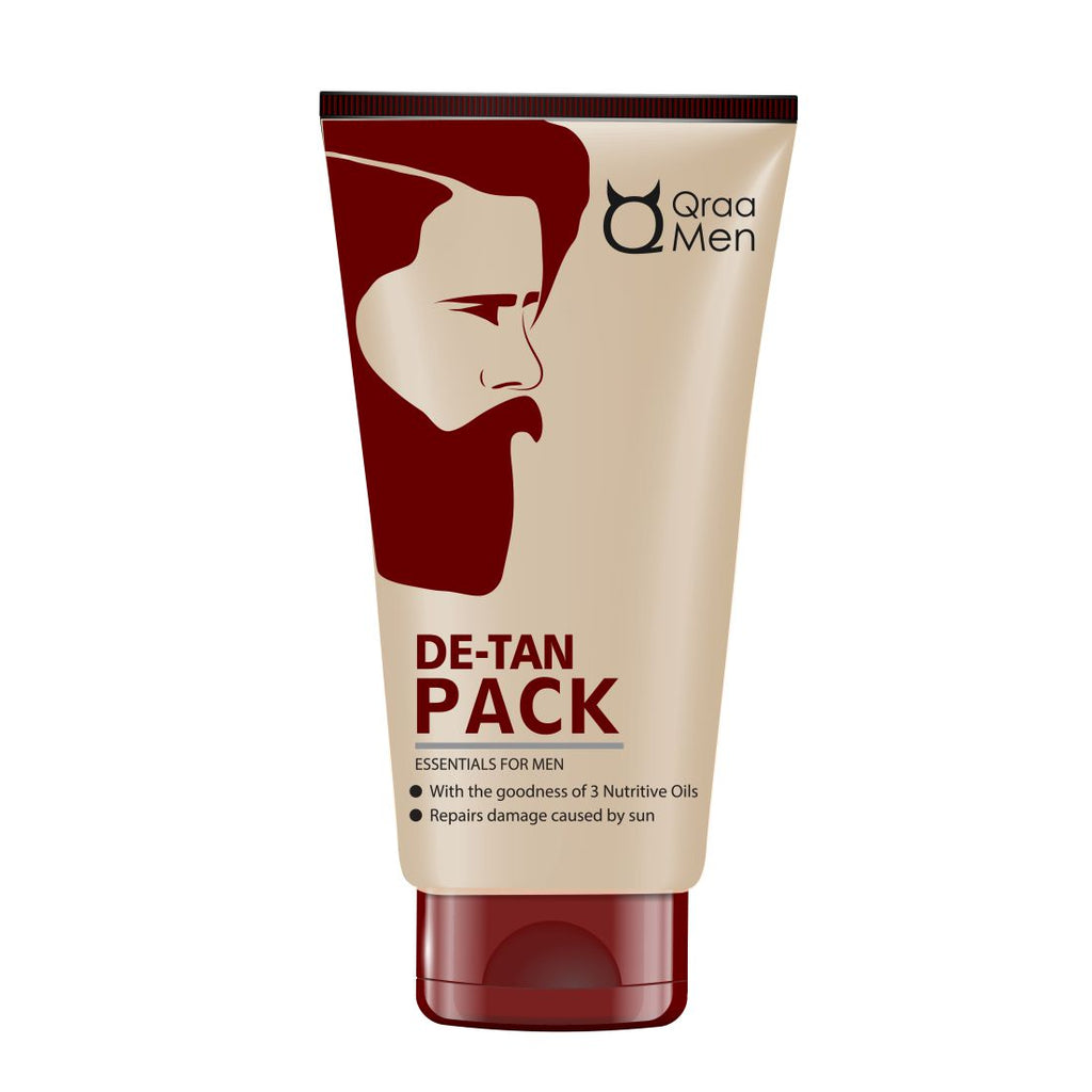 De-Tan Pack for Men- With Clove and Lemon Oil