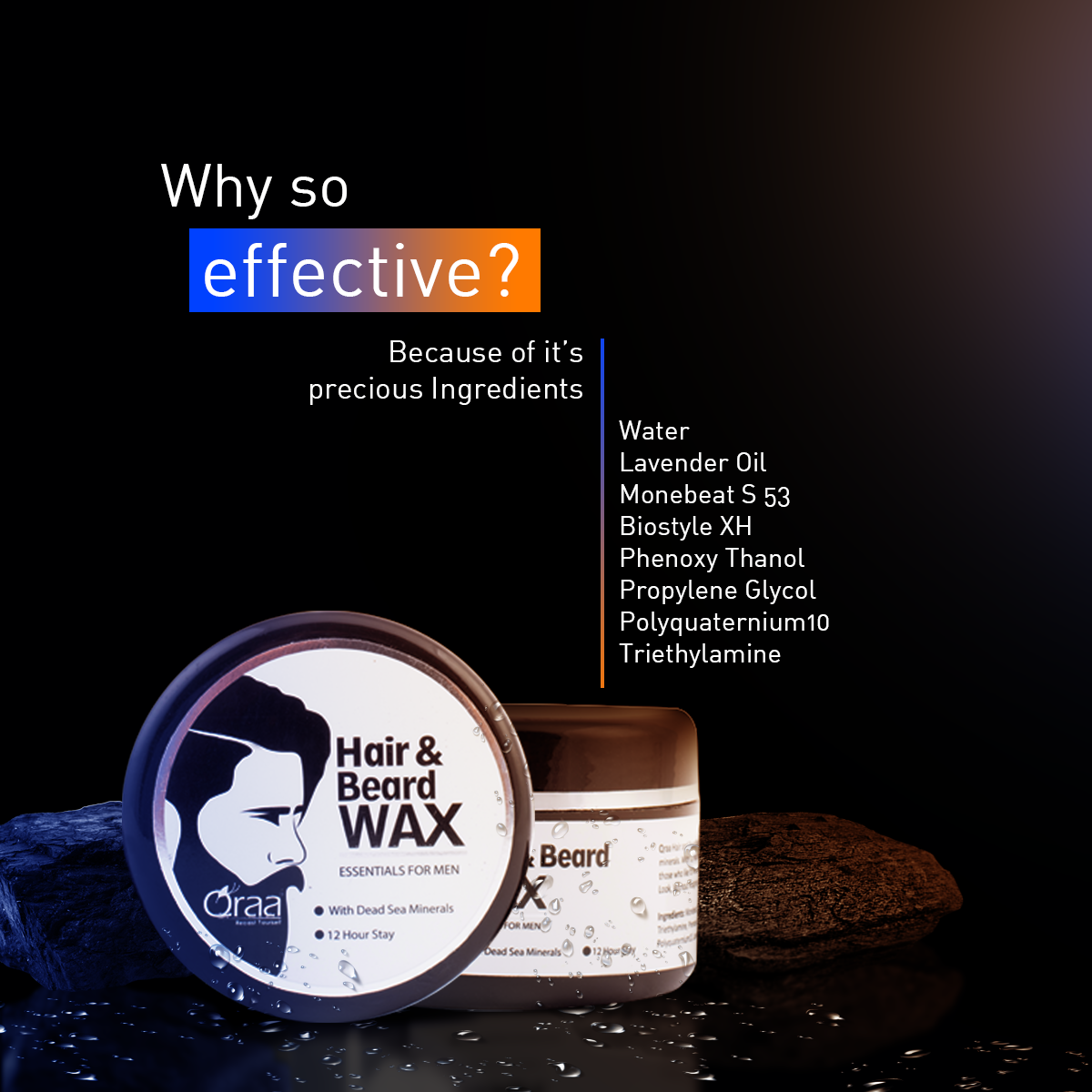 Styling Hair & Beard Gel Wax