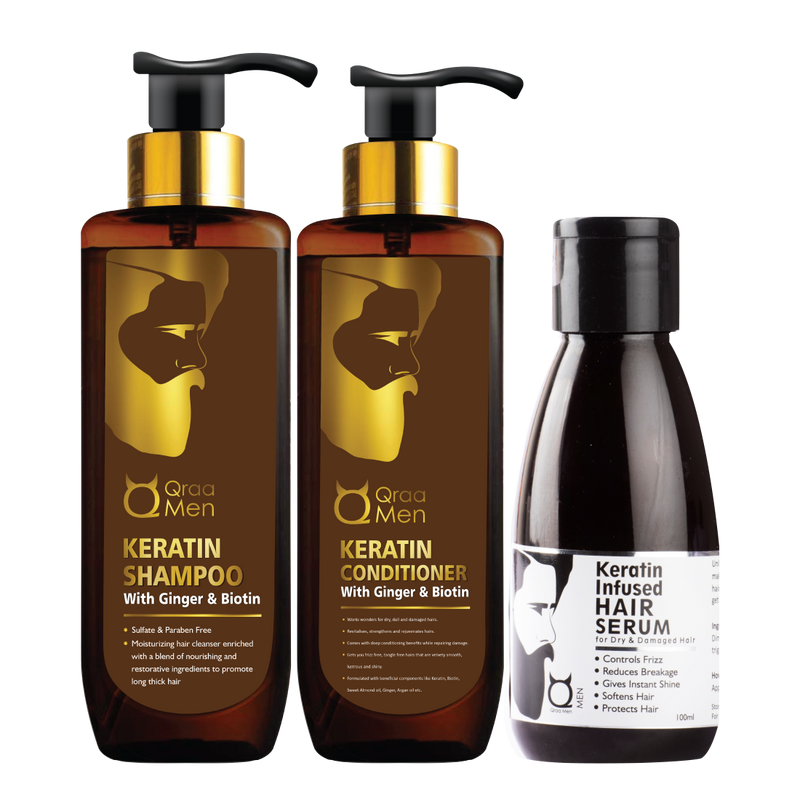 Keratin Repair Hair Therapy (Pack of 3)