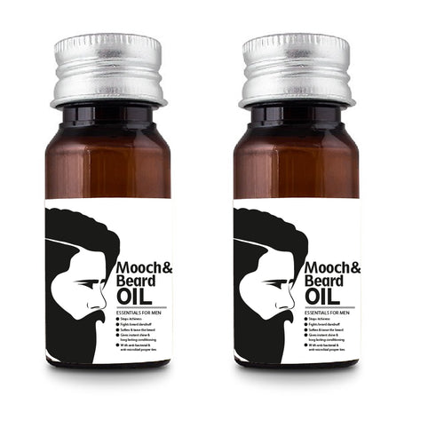 Mooch And Beard Oil Combo of 2