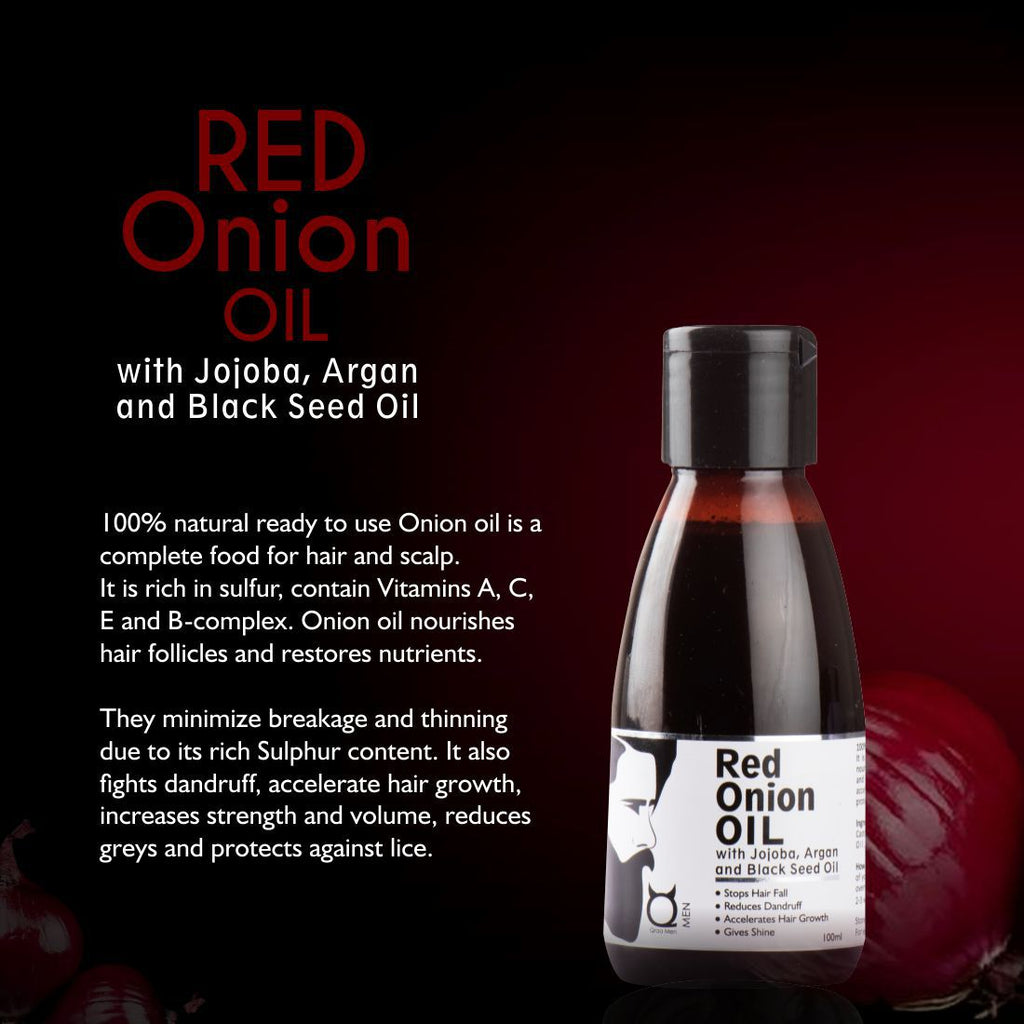 Red Onion Oil for Hair Regrowth- With Black Seed Oil