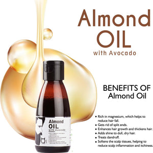 Almond Oil with Avocado Hair Oil - 100ml