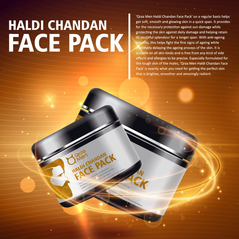 Haldi Chandan Face Pack for Skin Brightening and Lightening- 120g