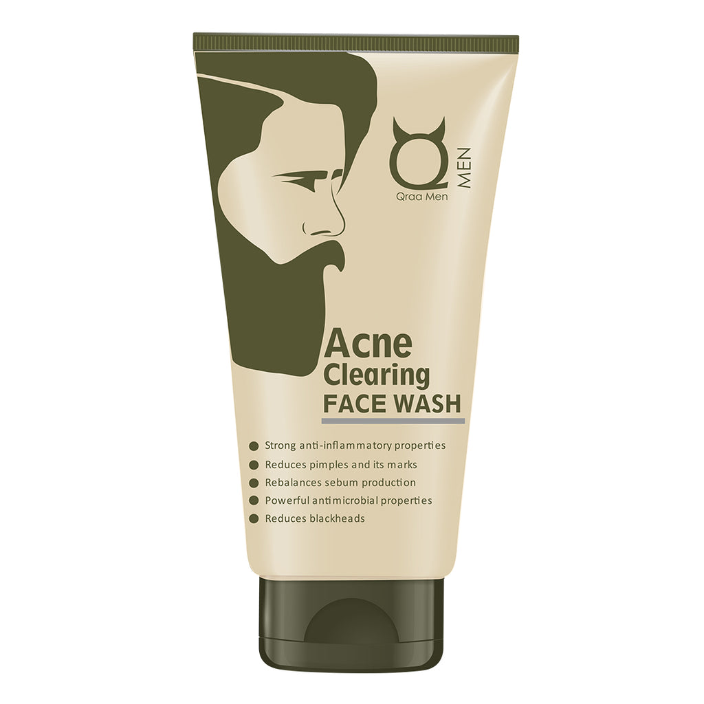 Acne Clearing Face Wash - For Acne and pimples, 100g