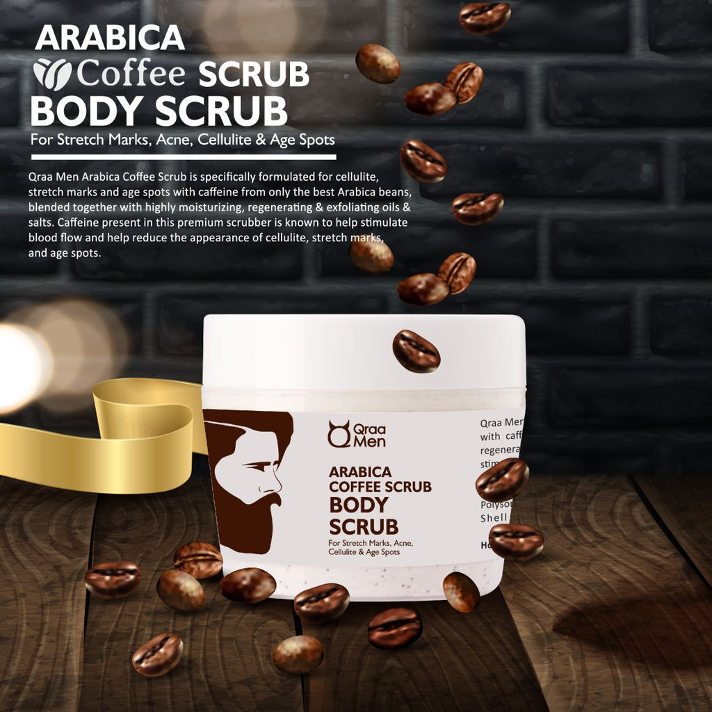 Arabica Coffee Body Scrub for Cellulite and Ageing Skin- 200g