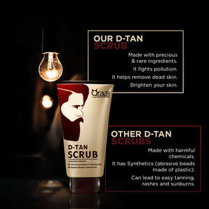 De-Tan Scrub for Men