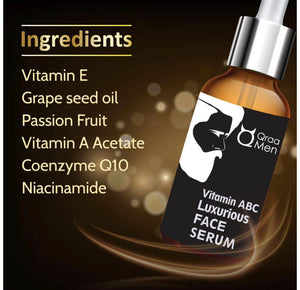 Vitamin ABC Luxurious Face Serum For Instant Glow | Skin Nourishment | Repair, 30 ml