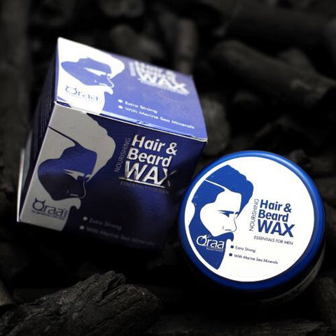 Nourishing Styling Hair And Beard Wax & Styling Hair & Beard Gel Wax Combo