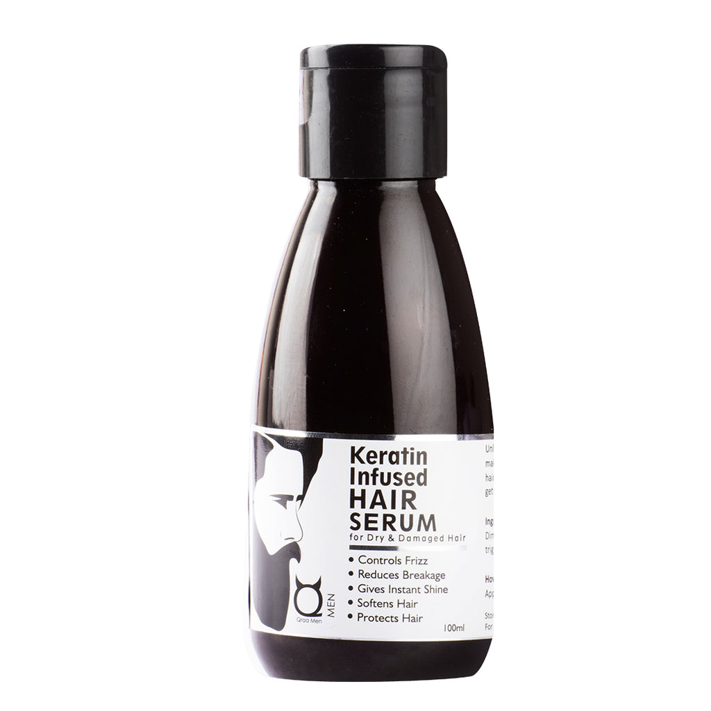 Keratin Infused Hair Serum - For shine and softness -100ml