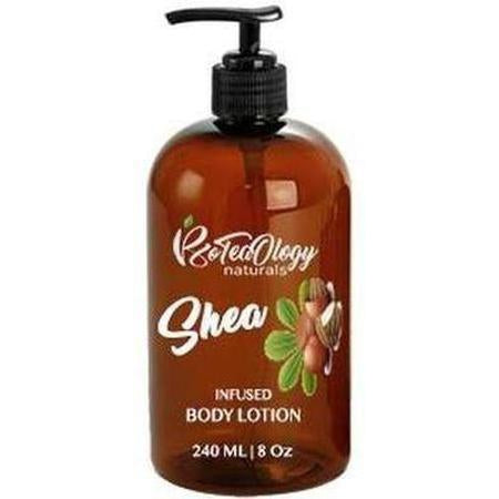 Shea Butter Infused Body Lotion 8 Oz