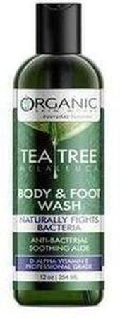 Organic Tea Tree Soap - Body & Foot Wash with Neem & Zinc