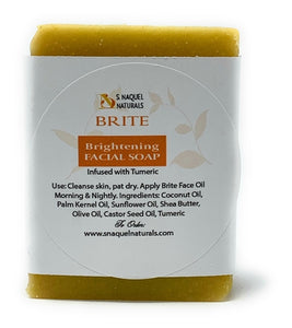 BRITE HANDMADE FACIAL CLEANSING BAR