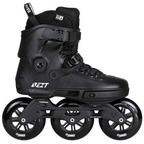 Powerslide Next Supercruiser Trinity 110 Blackout 2018 Skates