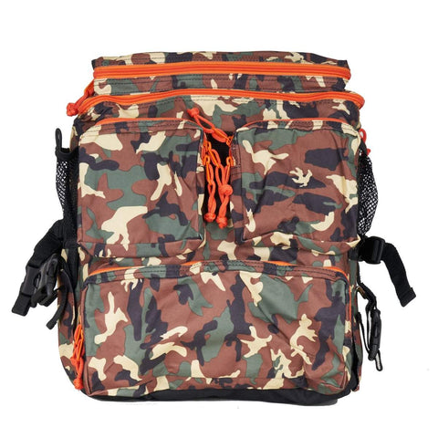 Fifty-50  Backpack - Camo / Orange