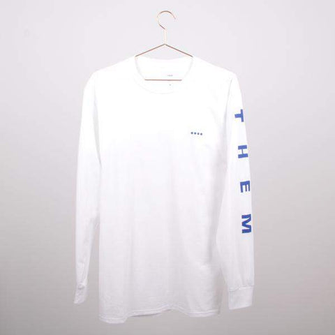 Them Goods Long sleeve T-Shirt White