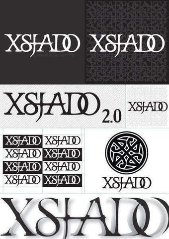 Xsjado A4 Sticker Pack