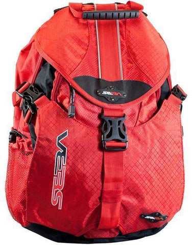 Seba Red Backpack Small - Loco Skates
