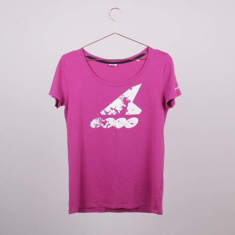 Rollerblade 2015 Womens Fit T-Shirt - pink