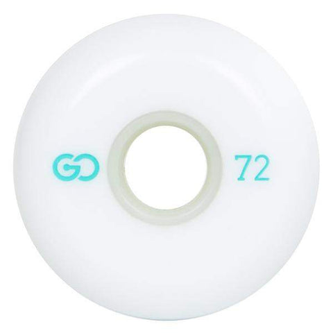Go Project 72mm White Wheels - Loco Skates
