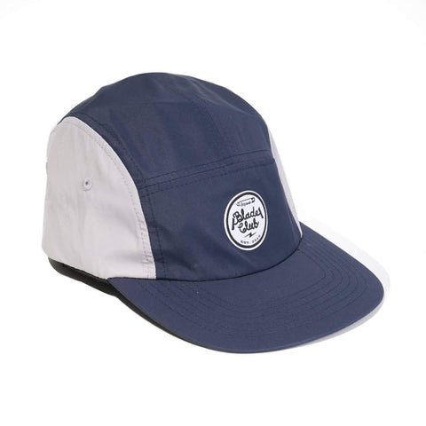 Blade Club 5 Panel Hat - Navy/Grey