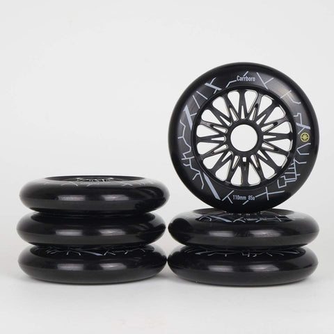 Compass Carrboro Wheels 110mm / 85a 6-Pack - Loco Skates