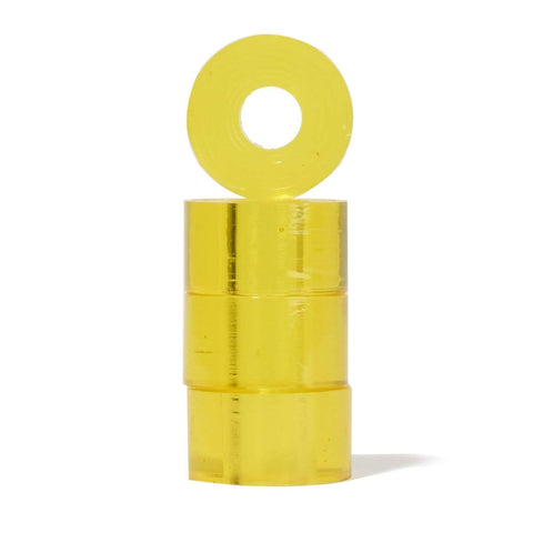 Clouds Cosmic Barrel Bushing 85a Clear Yellow - Loco Skates