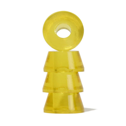 Clouds Cosmic Conical Bushing 85a Clear Yellow - Loco Skates