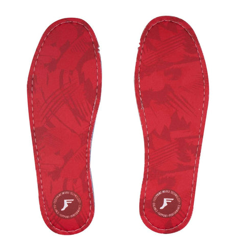 Footprint Kingfoam  Flat Insoles 5mm Red - Camo