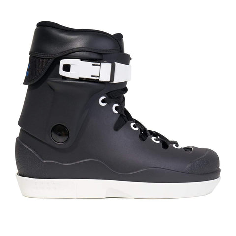 Them Skates 908 Edition II Black with White Souls Boot Only - Loco Skates