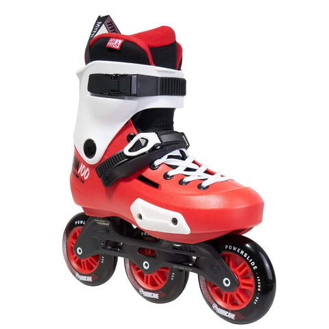 Powerslide Zoom 100 Skates - Red