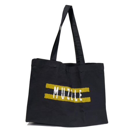 Muzzle Double Yellow Boot Bag - Black