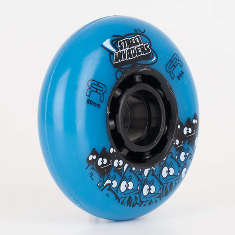 FR Street Invaders Blue Wheels 72mm / 76mm / 80mm (Singles)