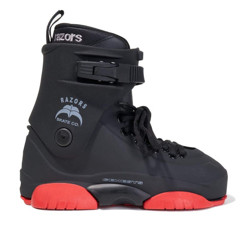Razors Genesys LE Black/Red 2019 Boot Only - Loco Skates