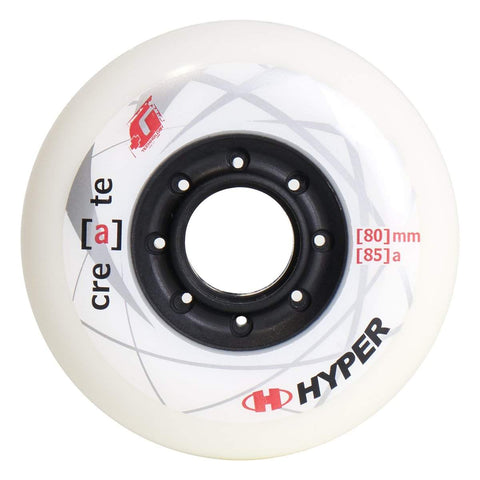 Hyper Create +G White Wheels 76mm / 80mm - Set of 4