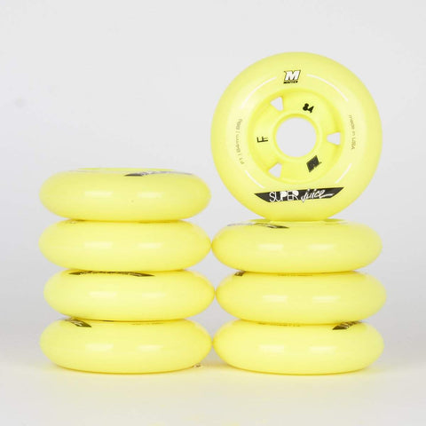 Matter SuperJuice F1 84mm 86a Wheels - 8 Pack - Loco Skates