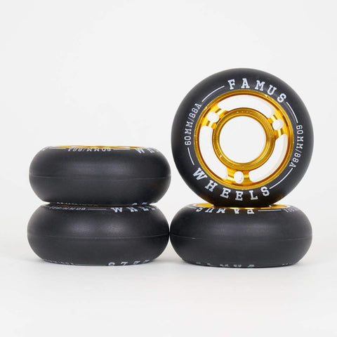 Famus Metal Core Wheels 60mm - Loco Skates