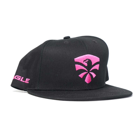 Flying Eagle flat cap - Pink
