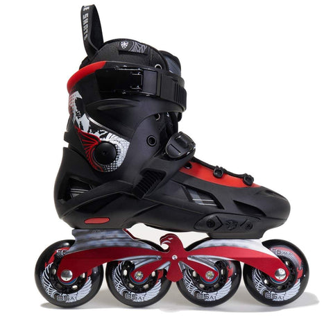 Flying Eagle F7 Optimum Dual Density - Black / Red Unisex Skates